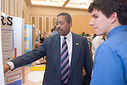 College of Education Undergrad Research Exhibition  in Baker Ballroom on Friday, March 9th. Provost Krendl,Dr. McDavis, and Dean Dr. Rene Middleton were there. There were about 45 trifold research presentations; the students worked in pairs....Mike Risaliti, & Dr. McDavis