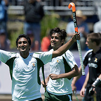 MELBOURNE - Champions Trophy men 2012<br /> Belgium v Pakistan 0-2<br /> foto: Shafqat Rasool scores the 0-2<br /> FFU PRESS AGENCY COPYRIGHT FRANK UIJLENBROEK