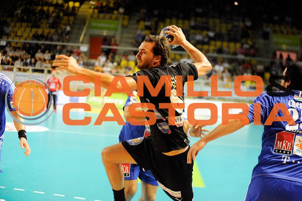 DESCRIZIONE : Handball Homme Eurotournoi<br /> GIOCATORE : NAGY Kornell<br /> SQUADRA : Dunkerque<br /> EVENTO : Eurotournoi<br /> GARA : Dunkerque Veszprem<br /> DATA : 31 08 2013<br /> CATEGORIA : Handball Homme<br /> SPORT : Handball<br /> AUTORE : JF Molliere