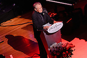 Photos of Dave Grusin at the Phil Ramone Music Memorial Celebration concert event at Salvation Army Theater, NYC. May 11, 2013. Copyright © 2013 Matthew Eisman. All Rights Reserved