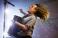 """June 7, 2015 - """"Weird Al"""" Yankovic performing during The Governors Ball NYC Music Festival at Randall's Island Park, NY."""