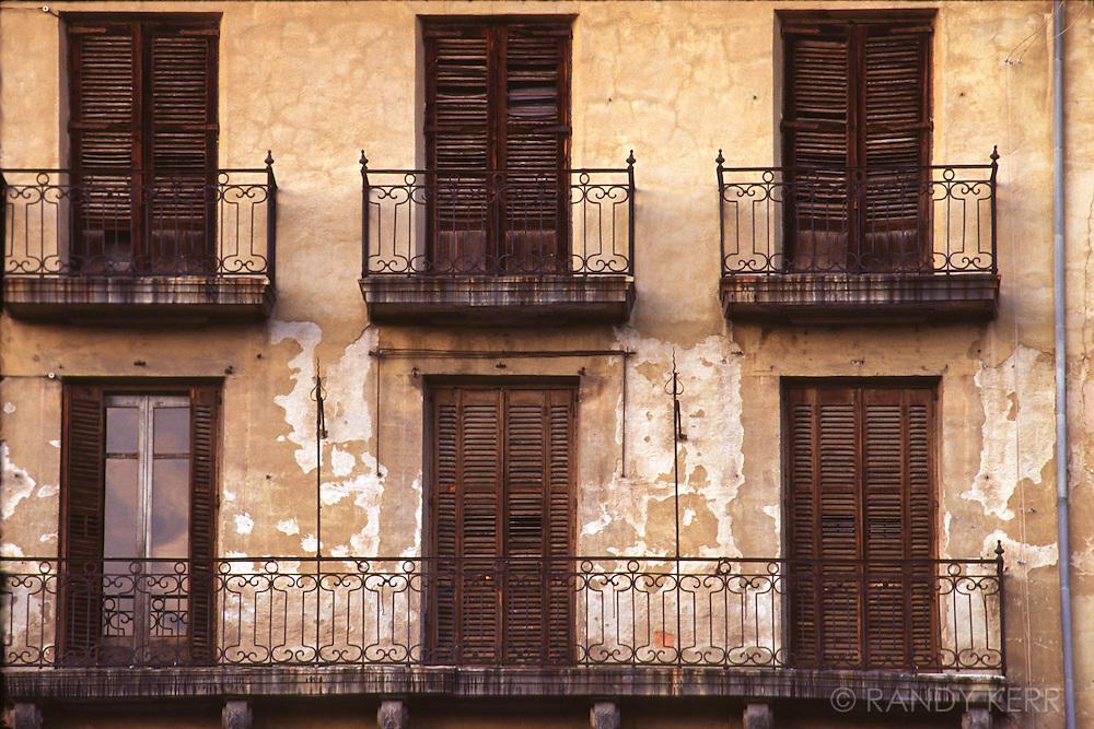 Shuttered windows
