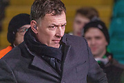 Ex Celtic Striker Chris Sutton back at Parkhead during the Europa League match between Celtic and FC Copenhagen at Celtic Park, Glasgow, Scotland on 27 February 2020.