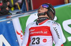 26.10.2019, Hannes Trinkl Weltcupstrecke, Hinterstoder, AUT, FIS Weltcup Ski Alpin, Riesenslalom, Herren, 2. Lauf, im Bild Manuel Feller (AUT) // Manuel Feller of Austria reacts after his 2nd run of men's Giant Slalom of FIS ski alpine world cup at the Hannes Trinkl Weltcupstrecke in Hinterstoder, Austria on 2019/10/26. EXPA Pictures © 2020, PhotoCredit: EXPA/ Erich Spiess