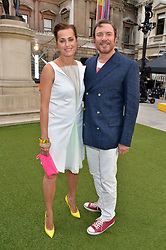 SIMON & YASMIN LE BON at the annual Royal Academy of Art Summer Party held at Burlington House, Piccadilly, London on 4th June 2014.