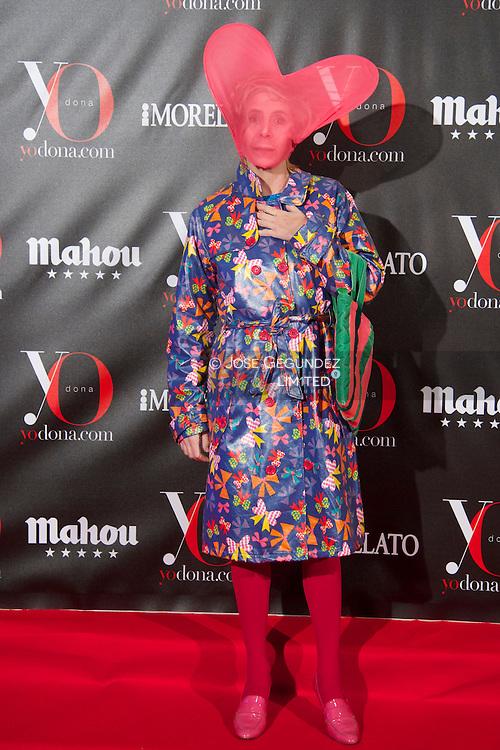 Agatha Ruiz de la Prada attends 'Yo Dona' Magazine's Mask Party at Casino on 18 February, 2013 in Madrid
