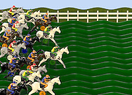 Carnival Game of Horses and Jockeys