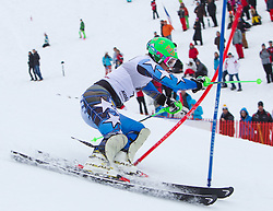 22.01.2012, Ganslernhang, Kitzbuehel, AUT, FIS Weltcup Ski Alpin, 72. Hahnenkammrennen, Herren, Slalom 1. Durchgang, im Bild Ted Ligety (USA) // Ted Ligety of USA during Slalom race 1st run of 72th Hahnenkammrace of FIS Ski Alpine World Cup at 'Ganslernhang' course in Kitzbuhel, Austria on 2012/01/22. EXPA Pictures © 2012, PhotoCredit: EXPA/ Johann Groder