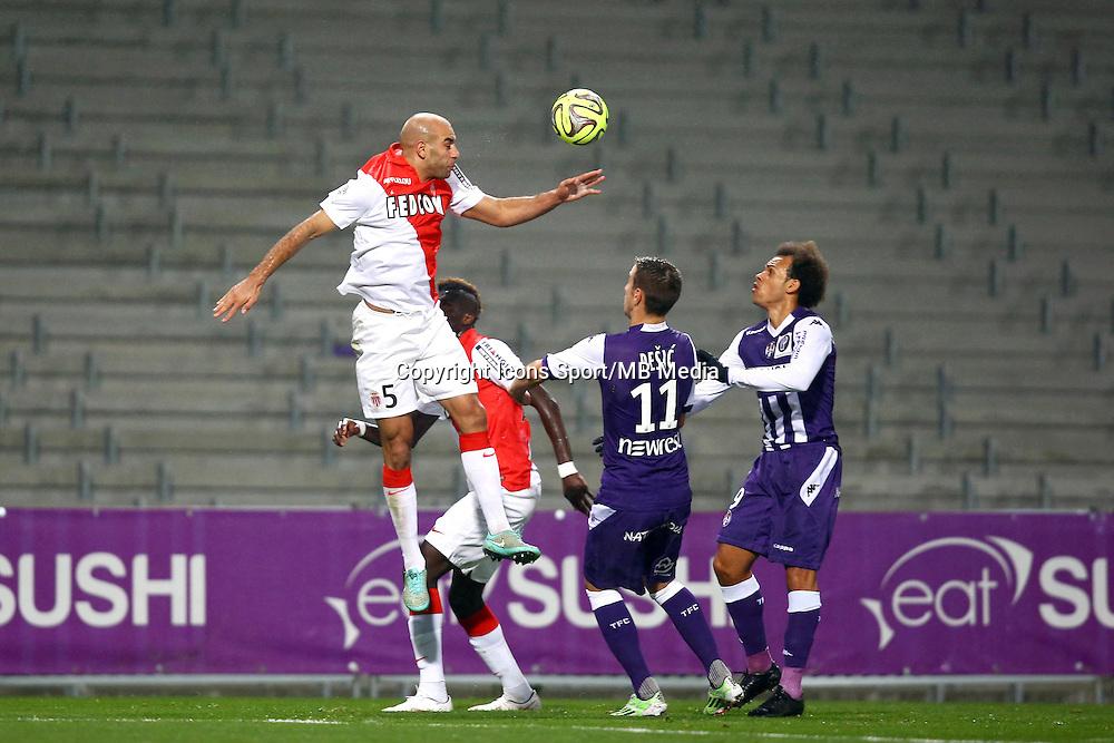 Aymen Abdennour - 05.12.2014 - Toulouse / Monaco - 17e journee Ligue 1<br />Photo : Manuel Blondeau / Icon Sport