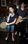***FILE PICTURE***.Amy Winehouse plays secret charity gig called Apocalypstick at The Hawley in October 2010 Arms in Camden town London. The gig was in aid of Nordoff Robbins Music therapy Charity.Ki Price +44 7940447610....
