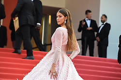 May 22, 2019 - Cannes, France - 72eme Festival International du Film de Cannes. Montée des marches du film ''Roubaix, une lumiere (Oh Mercy!)''. 72th International Cannes Film Festival. Red Carpet for ''Roubaix, une lumiere (Oh Merci!)'' movie.....239728 2019-05-22  Cannes France.. Mittenaere, Iris  (Credit Image: © L.Urman/Starface via ZUMA Press)
