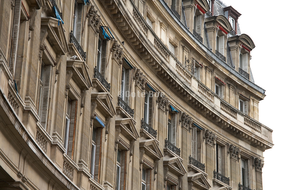 old architecture in Paris France by Jardin Des Halles