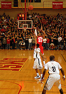 5 MARCH 2011 -- NORMANDY, Mo --  Chaminade College Prep basketball player Bradley Beal (23) launches a long-range shot during the MSHSAA Class 5 boys basketball quarterfinals between the Red Devils and McCluer North High School at Mark Twain Hall on the University of Missouri - St. Louis campus in Normandy, Mo. Saturday, March 5, 2011. The Stars upset the Red Devils 57-56 to advance to MSHSAA semifinals. Image © copyright 2011 Sid Hastings.