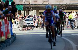 A rider felt at the end of cycling race 44th Grand Prix Kranj - Filip Majcen Memorial 2011, UCI Cat. 1.1 (177,3 km), on July 2, 2011, in Kranj, Slovenia. (Photo by Vid Ponikvar / Sportida)