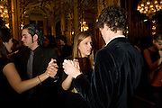 VIOLET HESKETH; ARTHUR GUINNESS,  Drinks the evening before the The 2008 Crillon Debutante Ball. Baccarat. Place des Etats-Unis.  Paris. 29 November 2008. *** Local Caption *** -DO NOT ARCHIVE-© Copyright Photograph by Dafydd Jones. 248 Clapham Rd. London SW9 0PZ. Tel 0207 820 0771. www.dafjones.com.