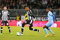 Jonathan KODJIA  - 26.01.2015 - Angers / Brest - 21eme journee de Ligue 2 -<br /> Photo : Vincent Michel / Icon Sport