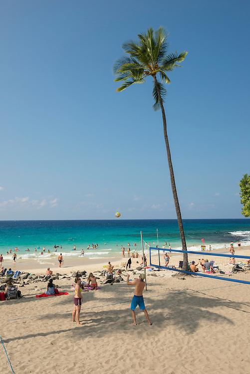 USA, Hawaii, Big Island,USA, Hawaii, Big Island ,South Kona, white sands beach park
