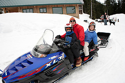 Snowmobile at Crystal Mountain