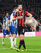 Simon Francis (2) of AFC Bournemouth during the Premier League match between Bournemouth and Brighton and Hove Albion at the Vitality Stadium, Bournemouth, England on 21 January 2020.