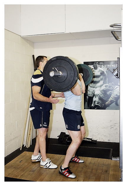Interview and photoshoot with Scottish rugby Squad as they prepare for the upcoming 2011 Rugby World Cup.