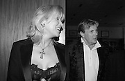 Theo and Louise Fennell at the  'Sheer Opulence' Nicky Haslam  book launch, General Trading company. London. 3 October 2002.  © Copyright Photograph by Dafydd Jones 66 Stockwell Park Rd. London SW9 0DA Tel 020 7733 0108 www.dafjones.com