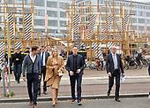 Koningin Maxima bezoekt Dutch Design Week 2016