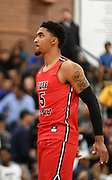 Tuff Crowd Power Forward Kenyon Martin Jr. (5) shoots a free-throw during a Drew League basketball game, Saturday, June 15, 2019, in Los Angeles.  (Dylan Stewart/Image of Sport)