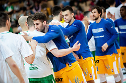 Alen Hodzic of Sixt Primorska during basketball match between KK Sixt Primorska and KK Petrol Olimpija in semifinal of Spar Cup 2018/19, on February 16, 2019 in Arena Bonifika, Koper / Capodistria, Slovenia. Photo by Vid Ponikvar / Sportida