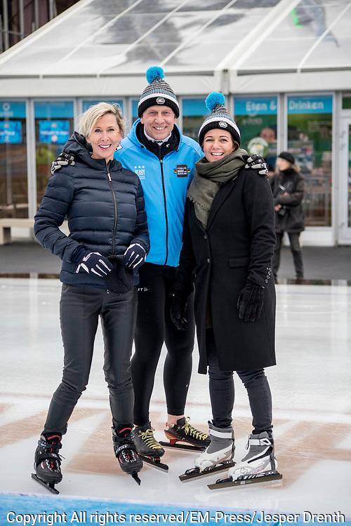 Bernhard van Oranje, initiatiefnemer van Lymph&Co, heeft vandaag bekend gemaakt dat Lymph&Co en het Van<br /> Vlissingen Lymfoom Fonds fuseren en verder gaan onder de naam Lymph&Co.<br /> <br /> Op de foto:  Prinses Annette , Rintje Ritsma en Monique des Bouvrie