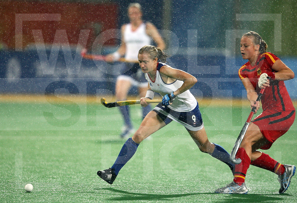 ..Jo Ellis of Great Britain, Great Britain V Germany at Beijing Olympic Green Hockey Stadium  ..Photo: Grant Treeby/WSP