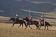 Mongolia. Children playing polo , children polo club in the Orkhon valley, training and game  Hahorin /   enfants jouant au polo. club de polo pour enfants dans la vallée de l'Orkhon, entrainement  karakorum - Mongolie