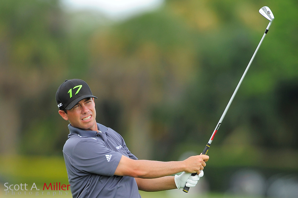 Chez Reavie during the final round of the World Golf Championship Cadillac Championship on the TPC Blue Monster Course at Doral Golf Resort And Spa on March 11, 2012 in Doral, Fla. ..©2012 Scott A. Miller.