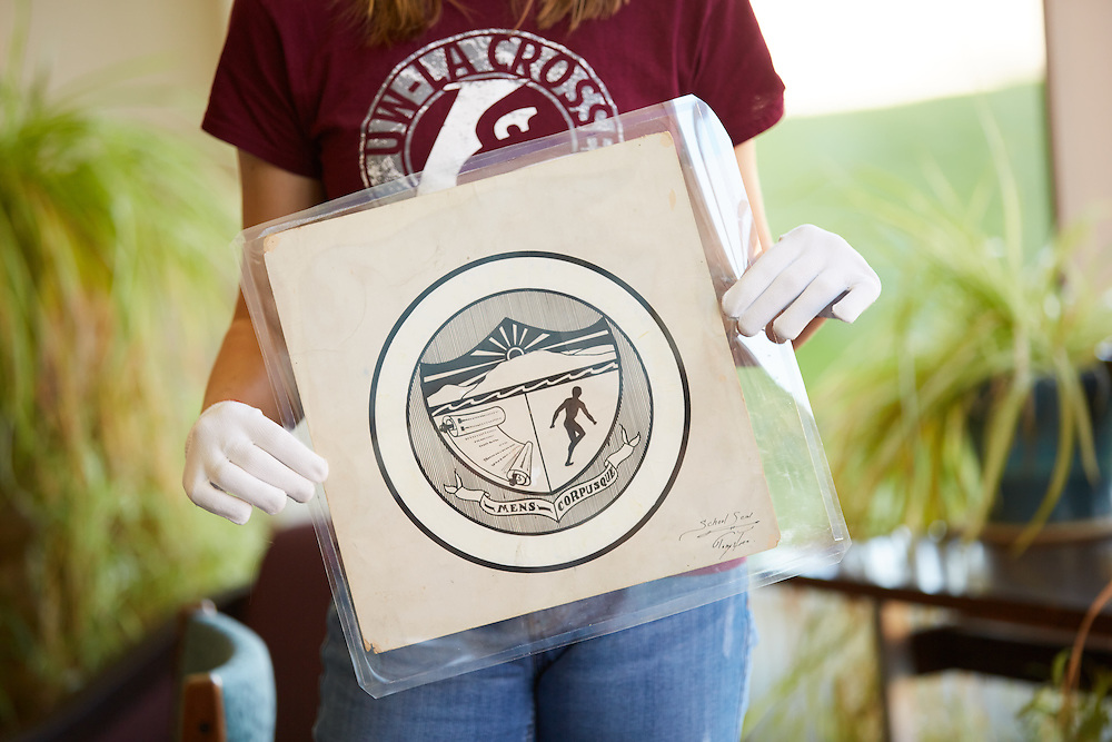 Location; Outside; UWL UW-L UW-La Crosse University of Wisconsin-La Crosse; Special Collections; University Seal; Original Artwork