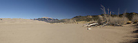 Medano Creek Panorama, Great Sand Dunes National Park, Colorado.