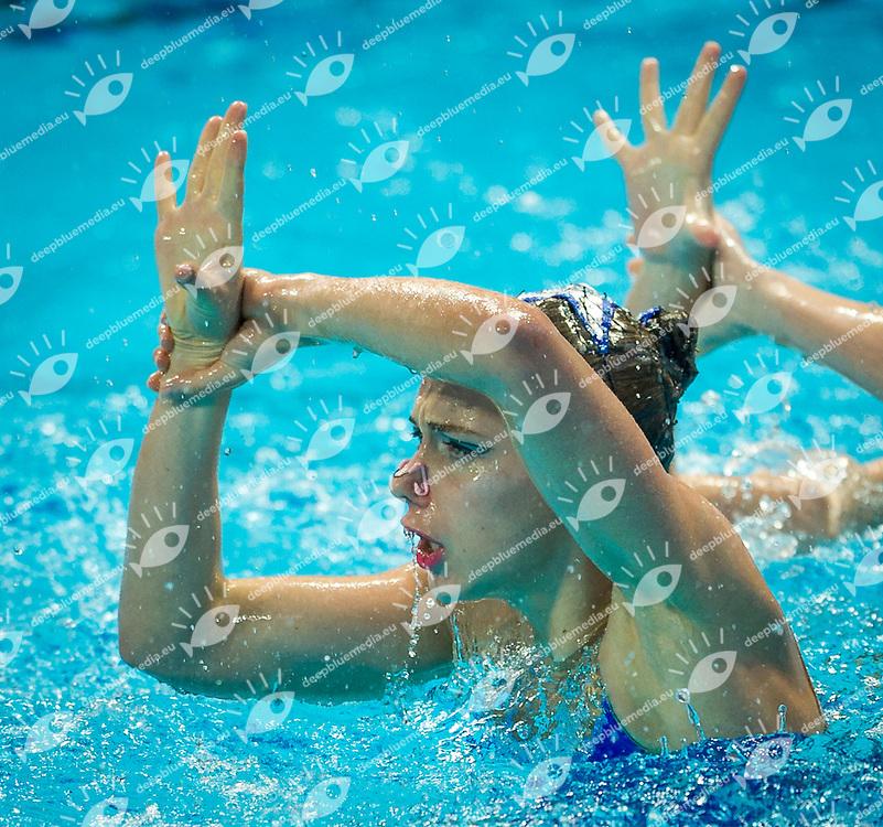 RUS - Russian&nbsp;Federation<br /> CHIGIREVA Vlada KOLESNICHENKO Svetlana<br /> PATSKEVICH Aleksandra PROKOFYEVA Elena<br /> SHISHKINA Alla SHUROCHKINA Maria<br /> TIMANINA Anzhelika TOPILINA Gelena<br /> Team Free Preliminary<br /> Day5 28/07/2015<br /> XVI FINA World Championships Aquatics<br /> Synchro<br /> Kazan Tatarstan RUS July 24 - Aug. 9 2015 <br /> Photo Pasquale Mesiano/Deepbluemedia/Insidefoto