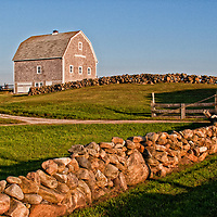 Mitchell Barn on Block Island, Rhode Island
