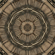 Kaleidoscope of Art Deco bronze metalwork<br /> <br /> Two or more layers used to enhance, alter and manipulate the image creating an abstract surrealistic mirrored symmetry.