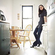 NEW YORK - DECEMBER 23: Author of Breaking Night, Liz Murray in her home in New York, New York. December 23, 2010.  {Photo by Brian Adams/Getty Images for Grazia Magazine}<br /> EXCLUSIVLY AVAILABLE ON CONTOUR IMAGES<br /> WWW.CONTOURPHOTOS.COM