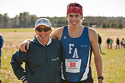 New England High School XC Championship, Silas Eastman and coach Bill Reilly