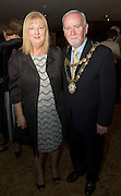 Repro free: At the Gorta Self Help Africa annual Ball at hotel Meyrick, Galway were   Mayor of Galway Cllr Donal Lyons and his wife Moira. Photo:Andrew Downes