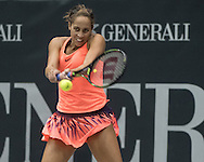 Madison Keys (USA) on Day Three of the WTA Generali Ladies Linz Open at TipsArena, Linz<br /> Picture by EXPA Pictures/Focus Images Ltd 07814482222<br /> 12/10/2016<br /> *** UK & IRELAND ONLY ***<br /> <br /> EXPA-REI-161012-5004.jpg