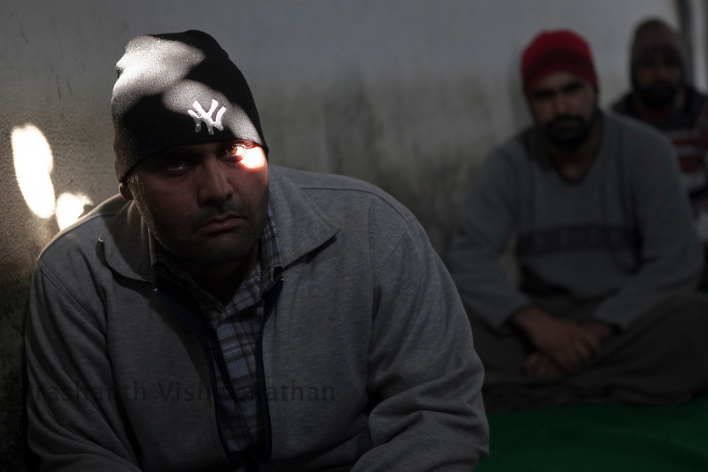"Drug addicts go through their daily lessons at ""Navjeevan"" drug rehabilitation center in Amritsar, India, on Wednesday, December 15, 2010. Photographer: Prashanth Vishwanathan/HELSINGIN SANOMAT"