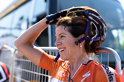 Stage winner Evelyn Stevens at Giro Rosa 2016 - Stage 6. A 118.6 km road race from Andora to Alassio, Italy on July 7th 2016.