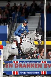 Ahlmann Christian, (GER), Cornwell <br /> 5 years of age<br /> FEI World Breeding Jumping Championships<br /> Lanaken 2015<br /> © Hippo Foto - Dirk Caremans<br /> 20/09/15