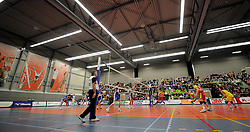 12-02-2011 VOLLEYBAL: AB GRONINGEN/LYCURGUS - DRAISMA DYNAMO: GRONINGEN<br /> In een bomvol Alfa-college Sportcentrum werd Dynamo met 3-2 (25-27, 23-25, 25-19, 25-23 en 16-14) verslagen door Lycurgus / Sporthal Alfa College <br /> ©2011-WWW.FOTOHOOGENDOORN.NL