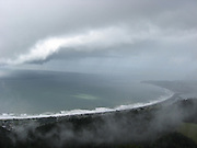 First day of Spring 2011, on Mt. Tamalpais looking down over Stinson Beach.