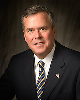 senior executive formal portrait, head shot, Governor Jeb Bush, Florida