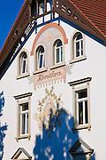 Der Turm, Villa Abendstern, Villengegend Weißer Hirsch, Dresden, Sachsen, Deutschland.|.Villa Abendstern, villa district Weisser Hirsch, Dresden, Germany