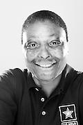 Joyce Austin<br /> Army<br /> E-7<br /> Tactical Communications<br /> Gulf War<br /> 1980 - 2001<br /> <br /> Veterans Portrait Project<br /> San Antonio, TX