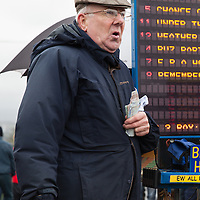 Patrick Casey, a bookie at the East Clare Harriers 2015 Killaloe point to point